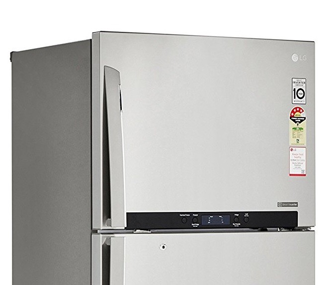 Lg Frost Free Double Door Refrigerator Review  Gl